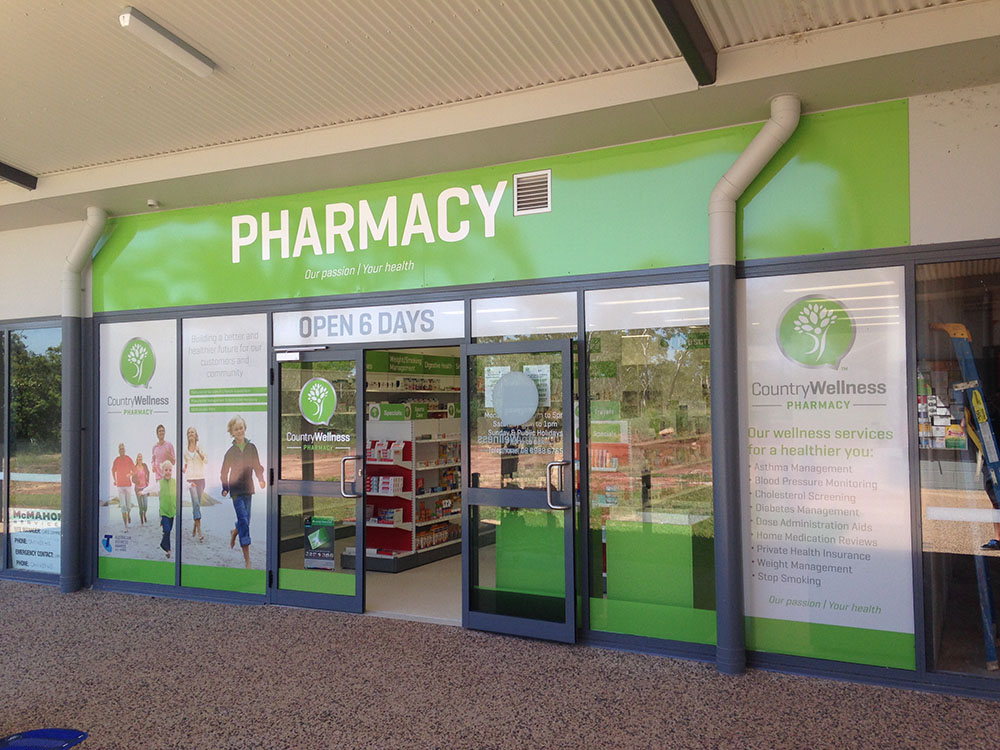 Pharmacy Shop Front Msc Signs