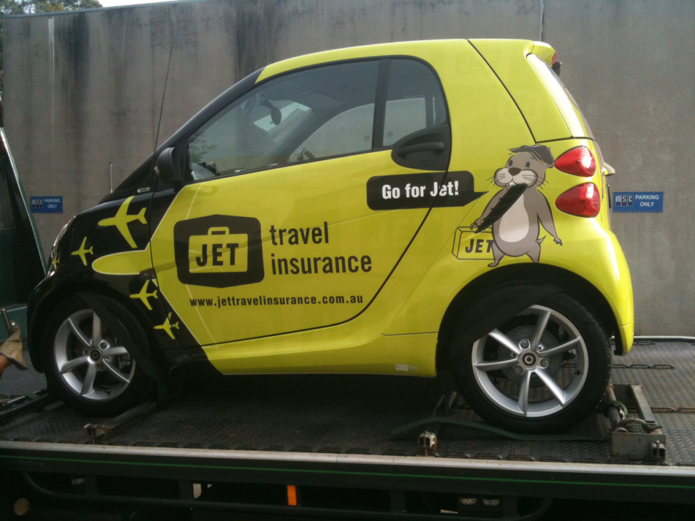 Smart Car Wrap Msc Signs